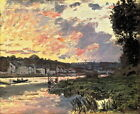 """Art Print Sunsets landscape Oil Painting Picture Printed on canvas 16""""x20"""" L1016"""