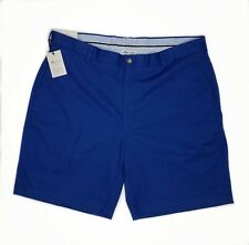 Peter Millar New Mens Blue 38 Soft Pima Cotton Twill Flat Front Chinos Shorts