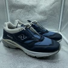 New Balance Made In England 1500.9 Navy Grey Leather Sz 13 M15009LP New