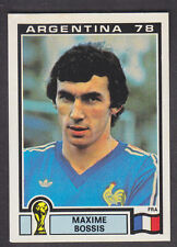 Panini - Argentina 78 World Cup - # 86 Maxime Bossis - France
