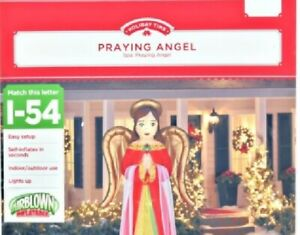 Holiday Time 8 foot tall Deluxe Angel Airblown Inflatable new in box