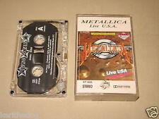 METALLICA - Live USA - MC Cassette tape /1943