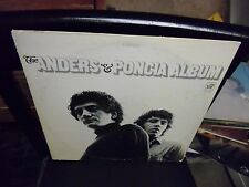 The Anders & Poncia LP Warner [Green label] Records EX