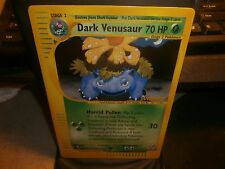 Pokemon DARK VENASAUR BEST JUMBO PROMO RARE CARD  AWESOME