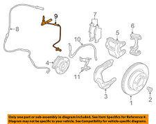 BMW OEM 12-15 328i ABS Anti-lock Brakes-Front Speed Sensor 34526869320
