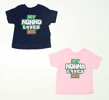 Tops & T-shirts New Rabbit Skins Toddler Lot Of 2 Short Sleeve T-shirts Blue And Pink 2t 02524 Girls' Clothing (newborn-5t)
