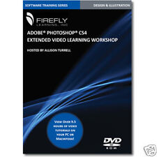 New Photoshop CS4 Extended Video Training Tutorial DVD