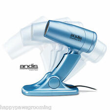 Andis QuietAire Ionic/Ceramic Pet DOG Cat Grooming HAIR Fur Dryer w/Stand *NEW