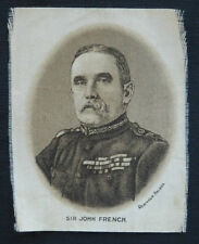 SIR JOHN FRENCH Great War Leaders Sepia Silk issued in 1915