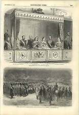 1857 The Imperial Box At The Stuttgart Theatre Empress Of Russia