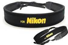 Camera Neck Shoulder Strap for Nikon D3100 D90 D5100 D800 D300S D7000 SLR DSLR