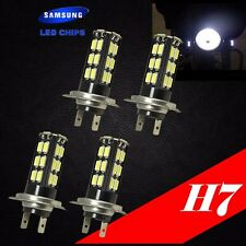 Combo 2 Pair H7 Samsung LED Chip 30 SMD White 6000K Light Bulb For YAMAHA Bike