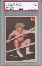 #69 1954 Parkhurst GORGEOUS GEORGE Wrestling Card PSA 7 HIGH GRADE SUPERSTAR