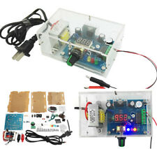 DIY AC 220V to DC 1.25V-12V LM317 Adjustable Power Supply Module Kit With