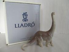 Lladro Dinosaur Stretch 07546 Made In Spain Porcelain Figurine
