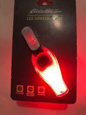 1Eddie Bauer Red Led Armband Light Safety Light Running Walking Jogging (Ab1)