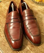 Crockett & Jones Handgrade Marston Excellent Patina Calf 10.5 E UK £520 TOP DEAL