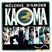 KAOMA Disque Vinyle 45 tours SP MELODIE D'AMOUR - CBS 655636-7 Frais Reduit