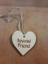 Handmade Wooden Gift Tags Special Friend