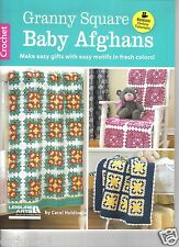 Granny Square Baby Afghans ~  Crochet Book  ~  New Book
