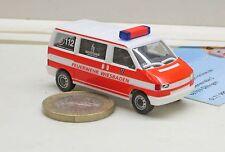 """Herpa 046190 VW t4 bus """"vigili del fuoco Wiesbaden"""""""