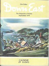 DOWN EAST MAGAZINE~SEPTEMBER 1974