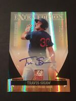 Travis Shaw 2011 Donruss Elite RC Auto/Autograph #52/535 Red Sox FREE SHIP