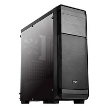 Aero Cool Aero 300 Black Midi Tower Gaming Case - USB 3.0