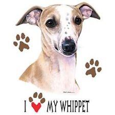 I Love My Wippet Dog HEAT PRESS TRANSFER for T Shirt Sweatshirt Fabric Tote 913b