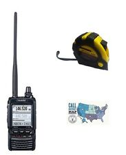 Yaesu FT-2DR Dual-band VHF/UHF Handheld Radio with FREE Radiowavz Antenna Tape!