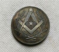 Le Mont Sinaï  Jeton  French Masonic coin Piece medaille Franc Macon Piece Sinai