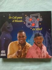 De Cali Para el Mundo... En Vivo * by Son de Cali (CD, May-2008, 2 Discs, Top...