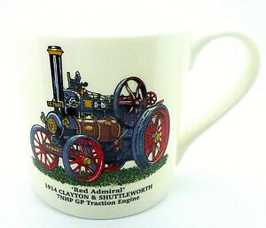 STEAM ENGINE Large Bone China Mugs ~ Choose from the drop down list