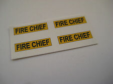 Corgi Juniors No 70-B Mercury Cougar Fire Chief Car Stickers - B2G1F