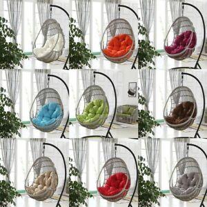 Hanging Garden Chair Weave Egg W/ Cushion In Outdoor Rattan Swing Patio