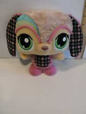 Littlest Pet Shop Pink Floppy Eared Dog Plush Stuffed Animal Toy