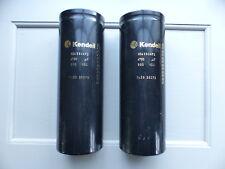 2pcs 4700uF 550V Kendeil K04 High End Tube Amp Capacitors