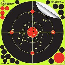 """Splatterburst Targets -12 inch Adhesive """"Stick & Splatter"""" Reactive Shooting ..."""