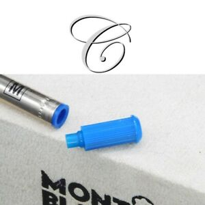 Montblanc Ballpoint Refill Adapter Plug Blue Vintage Extension for Giant Refill