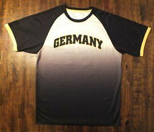 Icon Sports Mens Size L Takayuki Omi #21 Germany Football Soccer Jersey Shirt