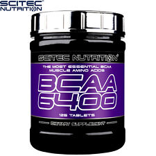 BCAA 6400 125 Tablets Strong Anabolic Pro Formula Growth BCAA Essential Acids