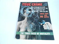 (#ABC) JULY 1962 TRUE CRIME vintage detective magazine THREE FACES OF BRUTALITY