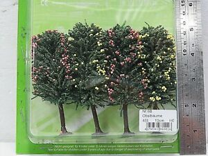Jordan Nr6B HO Scale 10cm FRUIT TREES X 4 pieces New