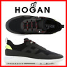 Hogan Interactive 3 Scarpe da Uomo Sneakers Running Sportive in Pelle Nere Nuove