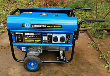 Stromerzeuger Generator RSS 667-4- 5000W Benzin (für Bastler)