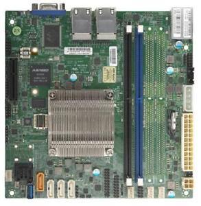 Supermicro A2SDi-2C-HLN4F Motherboard  4xGbE IPMI w / Intel Atom C3338 Mini-iTX
