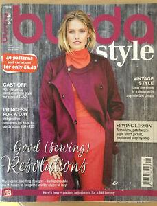Burda 1/2018 Jan 2018 English Ed Patterns Incl  Plus Sizes Costumes Active Wear