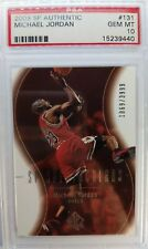 2004 SP Authentic Spectaculars Michael Jordan #131, #'d /3999, PSA 10, Pop 13 !