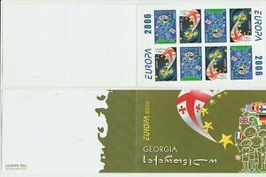 S35989 Georgia 2006 Europa Cept MNH Booklet Integration