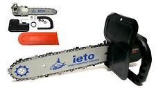 Kit sega motosega elettrica catena taglia legna per smerigliatrice angolare 115